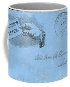 Civil War Letter, C1863 Coffee Mug