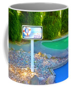 8 Hole Sign On  Golf Course Coffee Mug