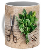 Kitchen Herbs Coffee Mug