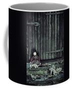 Old Doll Coffee Mug by Joana Kruse
