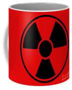 Radiation Warning Sign Coffee Mug