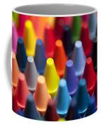 Rows Of Multicolored Crayons  Coffee Mug