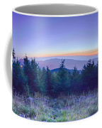 Top Of Mount Mitchell Before Sunset Coffee Mug