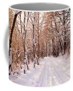 Winter White Forest Coffee Mug