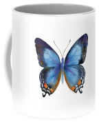 80 Imperial Blue Butterfly Coffee Mug