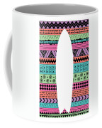 80s Fish Surfboard Coffee Mug