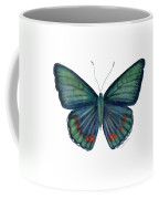 82 Bellona Butterfly Coffee Mug by Amy Kirkpatrick