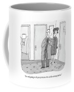 I'm Only Going To The Party Because The Suicide Coffee Mug