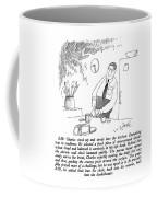 8:28: Charles Stood Up And Strode Coffee Mug
