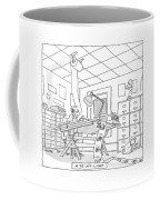 At The Laff-a-minit Coffee Mug