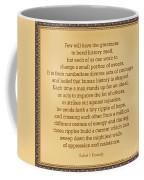 87- Robert F. Kennedy  Coffee Mug