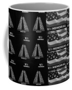 9/11 Memorial For Sale In Black And White Coffee Mug