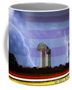 9-11 We Will Never Forget 2011 Poster Coffee Mug