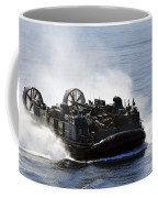 A Landing Craft Air Cushion Transits Coffee Mug