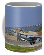 An F-16d Barak Of The Israeli Air Force Coffee Mug