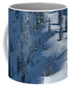 Backcountry Ski Traverse In Glacier Coffee Mug