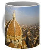 Brunelleschi's Dome At The Florence Cathedral  Coffee Mug