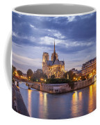 Cathedral Notre Dame Coffee Mug by Brian Jannsen