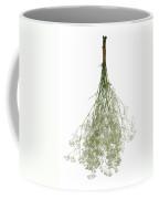 Hanging Dried Flowers Bunch Coffee Mug