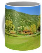 9-hole Golf Course In Autumn At Pine Coffee Mug