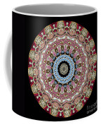 Kaleidoscope Colorful Jeweled Rhinestones Coffee Mug by Amy Cicconi