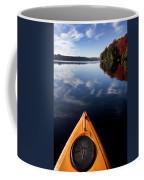 Lake In Autumn Coffee Mug