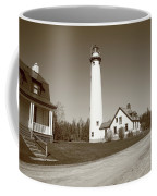 Lighthouse - Presque Isle Michigan Coffee Mug