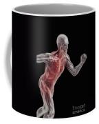 Running Male Figure Coffee Mug