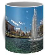 Skyline Of Uptown Charlotte North Carolina Coffee Mug