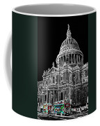 St Pauls Cathedral London Art Coffee Mug