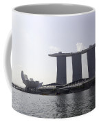 The Artscience Musuem And The Marina Bay Sands Resort In Singapore Coffee Mug
