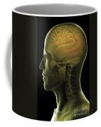 The Human Brain Coffee Mug