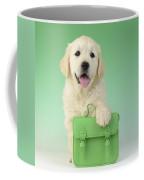 9 To 5 Labrador Coffee Mug by Greg Cuddiford