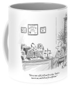 Give A Man A Fish Coffee Mug