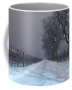 Winter Road Coffee Mug