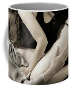 Young Couple Making Love Coffee Mug