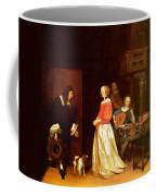 The Suitors Visit Coffee Mug
