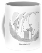 Welcome To The After-party Coffee Mug