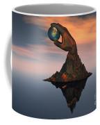 A 3d Conceptual Image Of The World Coffee Mug