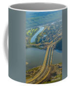 Fort Mcmurray From The Sky Coffee Mug