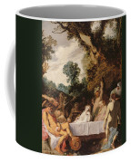 A Bacchanalian Feast, C.1617 Coffee Mug