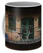 A Balcony On The River Aire Coffee Mug