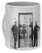 A Bank Vault Door Coffee Mug