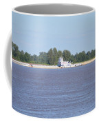 A Barge On The Mississippi River Coffee Mug