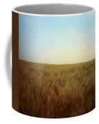 A Barley Crop Sways In The Wind Coffee Mug