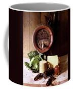 A Barrel Of Beer Coffee Mug by N. Courtney Owen
