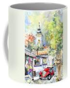 A Beautiful Car In Szentendre Coffee Mug