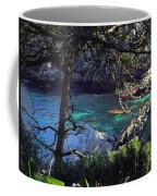 A Beautiful Cove At Point Lobos Coffee Mug