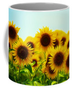 A Beautiful Sunflower Field Coffee Mug