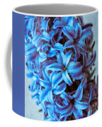 A Beauty In Blue Coffee Mug by Hannes Cmarits